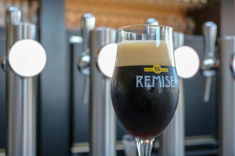 Remise Dubbel bier van brouwerij Remise 56
