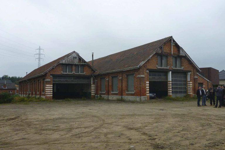 Het gebouw van Brouwerij Remise 56 voor de renovatie werken