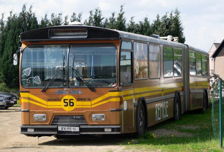Remise 56 Dorstbus, een lange tapbus voor evenementen