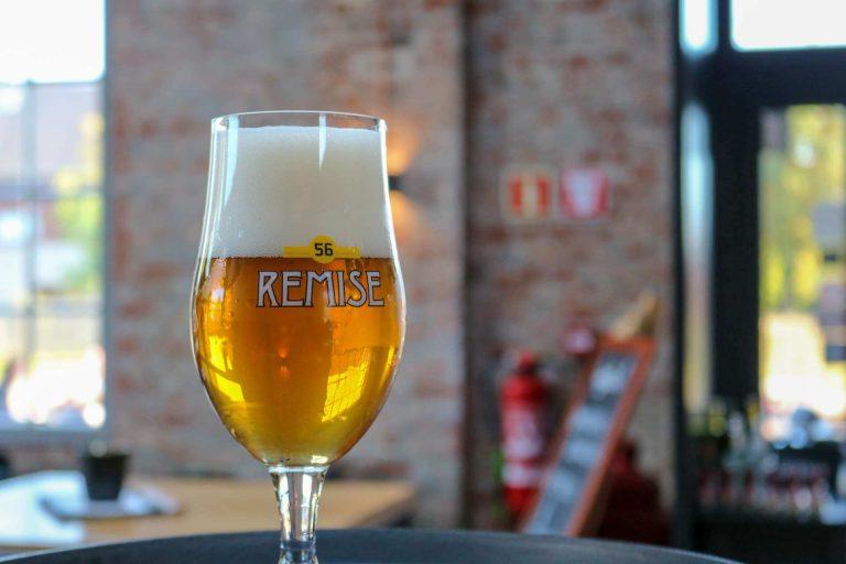 Remise Tripel bier van brouwerij Remise 56