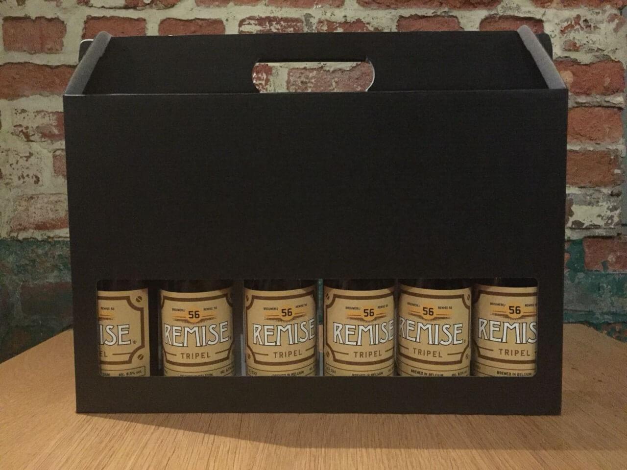 Geschenk koffer met Remise 56 Tripel